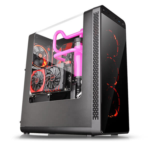 CASE VIEW 27 GULL-WING WINDOW ATX MID-TOWER THERMALTAKE