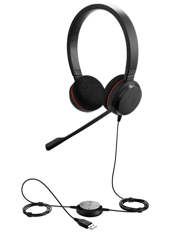 HEADSET EVOLVE 20 DUO JABRA