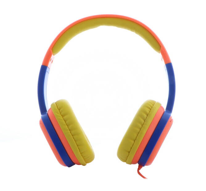 AUDIFONOS XTH-350 SOUNDART KID COLOR ORO XTECH
