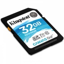 TARJETA SD 32GB SDHC CANVAS GO 90R/45W CL10 U3 V30 KINGSTON Tera Guatemala