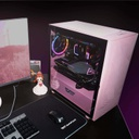 CASE DARKFLASH DLM21 MESH M-ATX MEDIA TORRE COLOR ROSADO