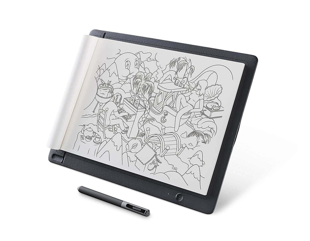 TABLETA WACOM SKETCHPAD PRO GRAPHIC PEN DRAWING COLOR NEGRO