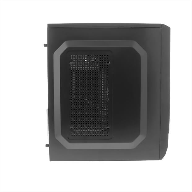 CASE-PC XTQ-200 DESKTOP ATX 600W COLOR NEGRO  XTECH