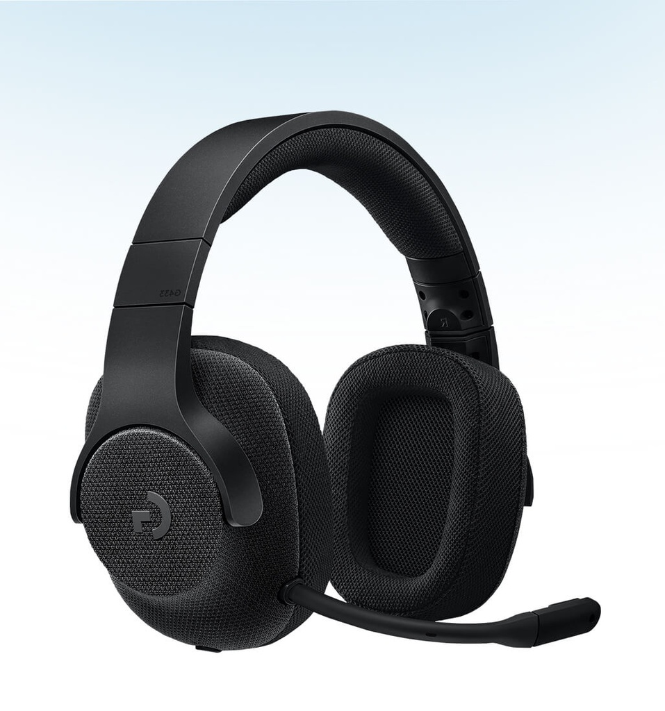 HEADSET GAMING G433 WIRED 7.1 SURROUND ROY  NEGRO LOGITECH