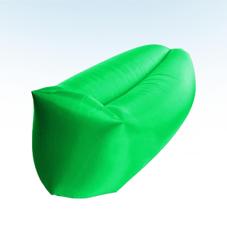 SACO INFLABLE XTB-101GN ZAC2GO COLOR VERDE XTECH