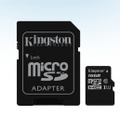 TARJETA MICROSD 16GB MICROSDHC CANVAS SELECT 80R CL10 UHS-I CARD CON ADAPTADOR KINGSTON