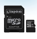 TARJETA MICROSD 32GB MICROSDHC CANVAS SELECT 80R CL10 UHS-I Card ADAPTADOR SD KINGSTON