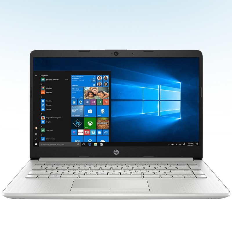 "LAPTOP HP 14-DK1025 AMD RYZEN 3 3250U 2.6GHZ 1TB 4GB RAM 14"" 1366X768 WIN10 COLOR GRIS"