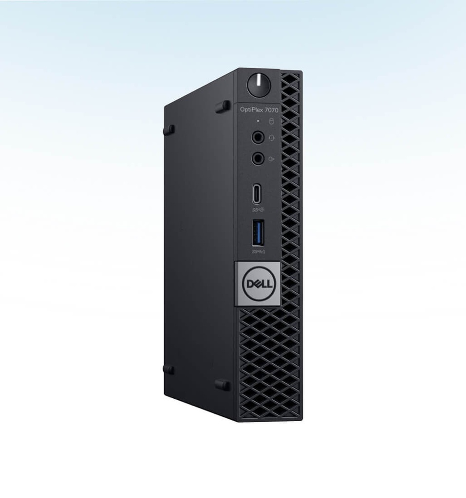 CPU DELL OPTIPLEX 7070 MFF SPA I7-9700T 2GHZ 8GB RAM 256GB SSD W10P 64 BITS UHD GRAPHICS 630