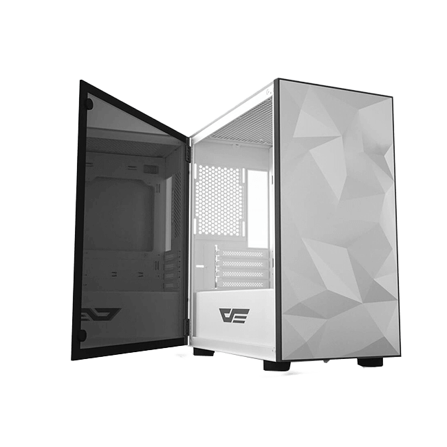 CASE DARKFLASH DLM21 M-ATX MEDIA TORRE COLOR BLANCO